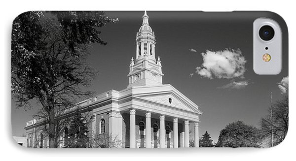 Lawrence University Memorial Chapel Phone Case by University Icons