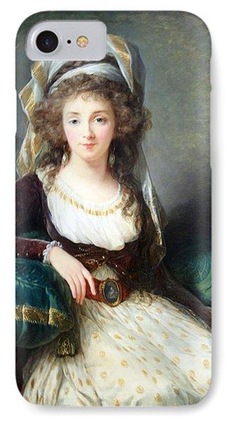 Le Brun's Madame D' Aguesseau De Fresnes IPhone Case