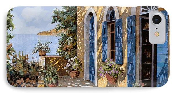Le Porte Blu IPhone Case by Guido Borelli