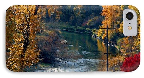 Leavenworth Fall IPhone Case by John Bushnell