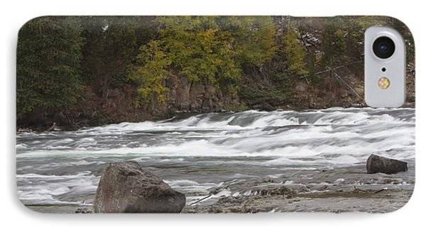 IPhone Case featuring the photograph Lehardy Rapids by Gerry Sibell