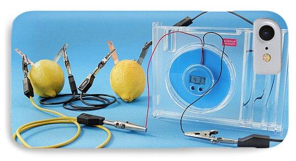 Lemon Clock IPhone Case