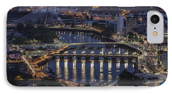 IPhone Case featuring the photograph Lerez River Pontevedra Galicia Spain by Pablo Avanzini