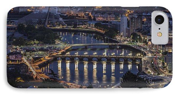 Lerez River Pontevedra Galicia Spain IPhone Case by Pablo Avanzini