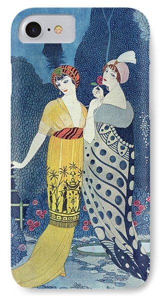 Paris iPhone 7 Case - Les Modes by Georges Barbier