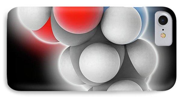 Leucine Molecule IPhone Case by Laguna Design