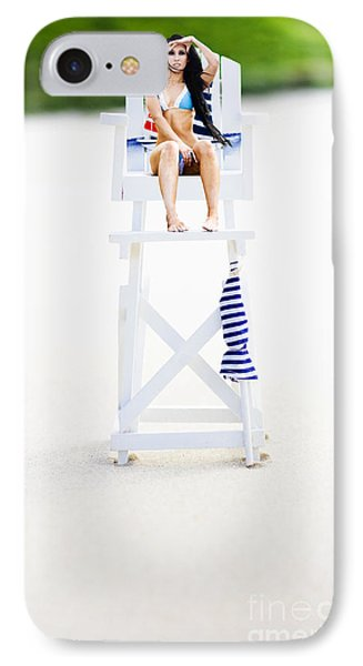 Lifeguard IPhone Case by Jorgo Photography - Wall Art Gallery