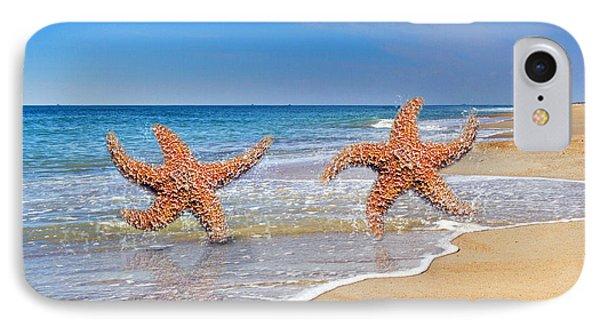 Life's A Beach Phone Case by Betsy Knapp