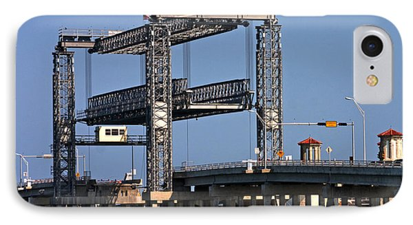 Liftbridge For Boat Traffic IPhone Case
