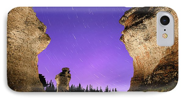 Light Painting On Monolith And Star IPhone Case
