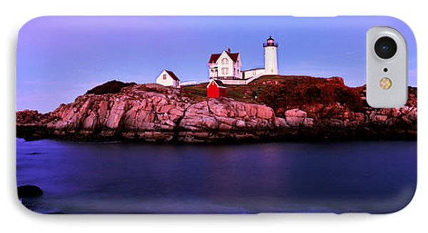Lighthouse At A Coast, Nubble IPhone Case