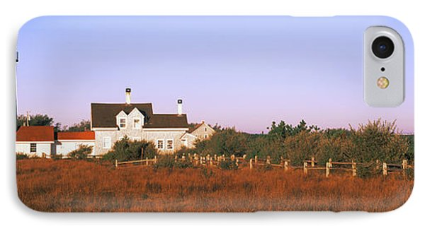 Lighthouse In The Field, Highland IPhone Case by Panoramic Images