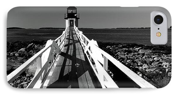 Lighthouse On The Coast, Marshall Point IPhone Case