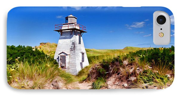 Lighthouse On The Dunes Phone Case by Dan Dooley