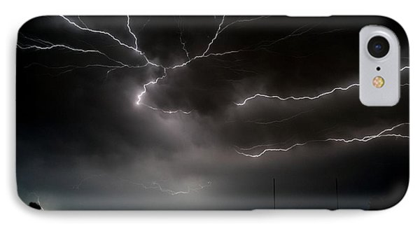 Lightning 2 IPhone Case by Richard Zentner