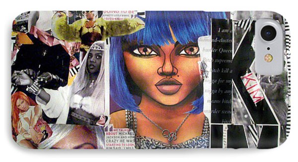 Lil Kim The Making Of A Queen Bee Phone Case by Isis Kenney