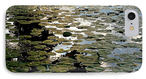 Lilly Pad Abstraction IPhone Case