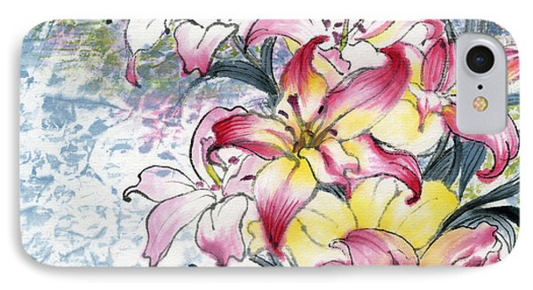 Lily  IPhone Case by Ping Yan
