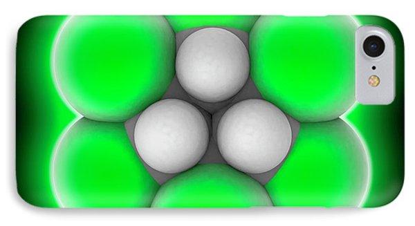 Lindane Molecule IPhone Case