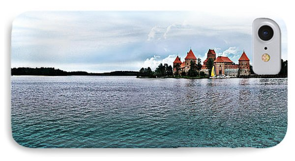 Lithuanian Castle IPhone Case by Kate Black