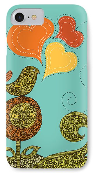 Little Bird In The Flower IPhone Case
