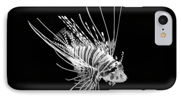 Little Lionfish Phone Case by Jamie Pham