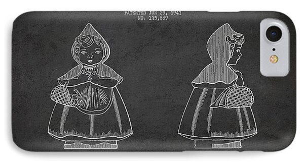 Little Red Riding Hood Patent Drawing From 1943 Phone Case by Aged Pixel