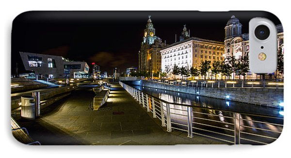 Liverpool Waterfront Phone Case by Wayne Molyneux