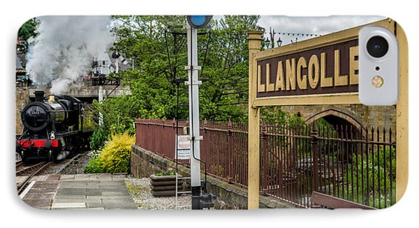 Llangollen Railway Station IPhone Case by Adrian Evans
