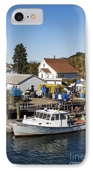 Lobster Boat Phone Case by John Greim