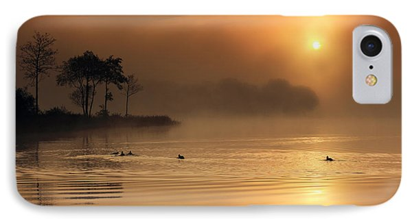 Loch Ard Morning Glow IPhone Case by Grant Glendinning