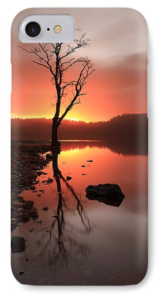 Loch Ard Sunrise Phone Case by Grant Glendinning