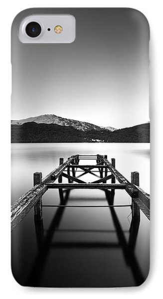 Loch Lomond Jetty Phone Case by Grant Glendinning