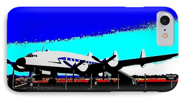 Lockheed Constellation Phone Case by Will Borden