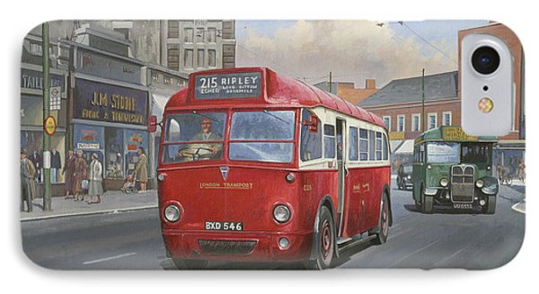 London Transport Q Type. IPhone Case
