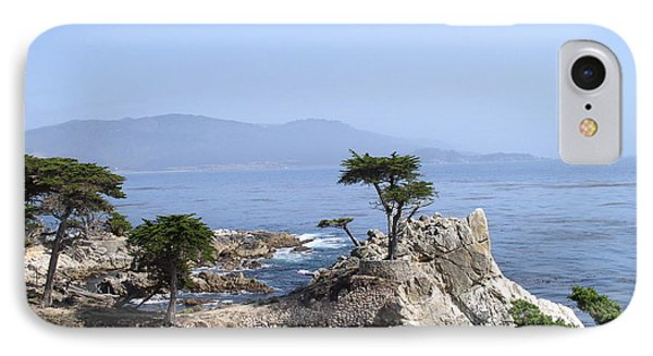 Lone Cypress IPhone Case by Bev Conover