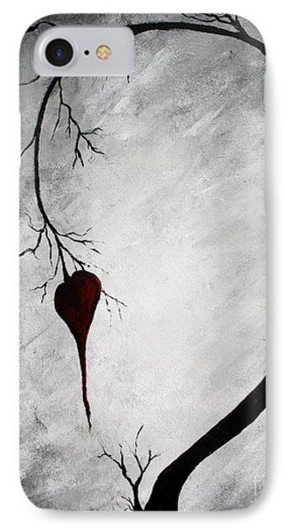 Lonely Heart IPhone Case by Michael Grubb