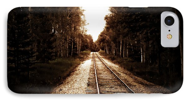 Lonely Railway IPhone Case