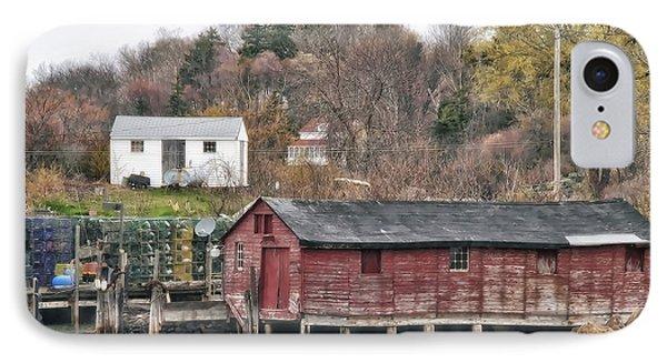 Long Island Maine IPhone Case by Richard Bean