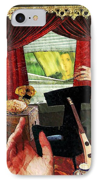 Looking In Phone Case by Sarah Loft