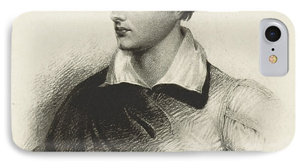 IPhone Case featuring the photograph Lord Byron, English Romantic Poet by British Library