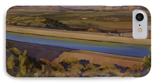 California Aqueduct IPhone Case by Jane Thorpe