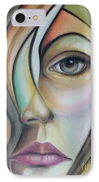 IPhone Case featuring the painting Lost 150808 by Selena Boron