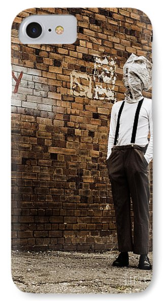 Lost In Back Alleys Of Yesterday IPhone Case by Jorgo Photography - Wall Art Gallery