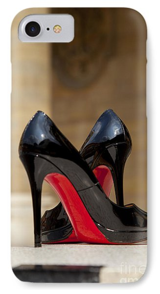 Louboutin Heels IPhone Case by Brian Jannsen