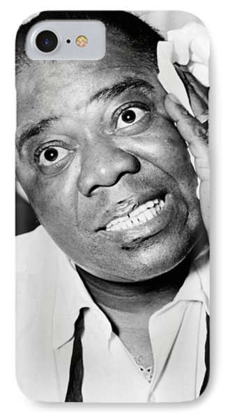 Louis Armstrong (1900-1971) Phone Case by Granger