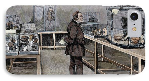 Louis Pasteur (1822-1895 IPhone Case by Prisma Archivo
