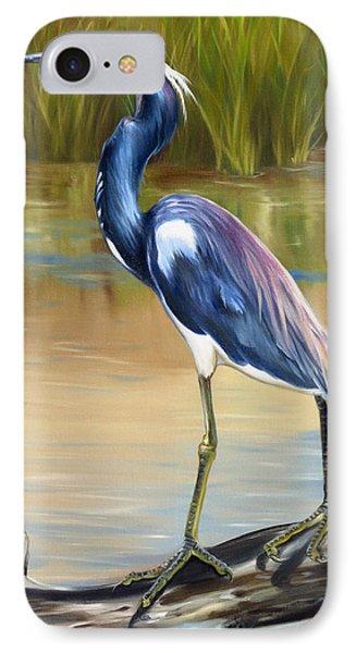 Louisiana Heron IPhone Case by Phyllis Beiser