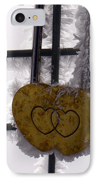 Love Locked Jungfraujoch IPhone Case