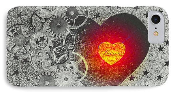 Love Makes It Work IPhone Case by Christine Ricker Brandt
